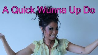 Get Ready With Me, A Quick Wunna Up Do