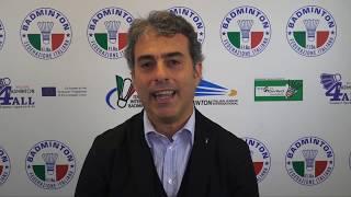 18° Yonex Italian international - Intervista a Giovanni Esposito