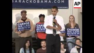 Obama and Clinton virtually tied in Iowa polls