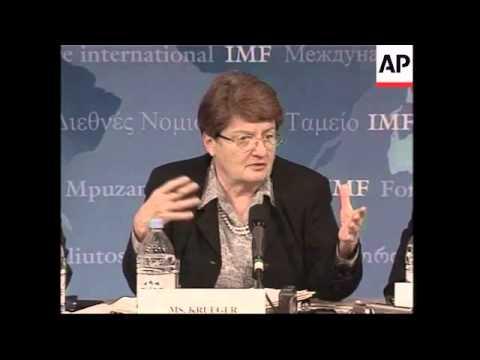 IMF presser praises Latin America's struggling economies