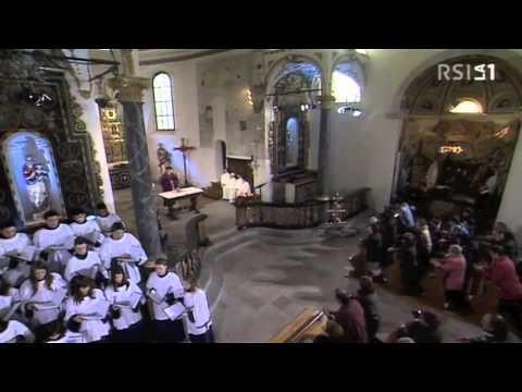 Anamnesi, Messa in diretta nazionale da Quinto (TI) - Scuola Corale della Cattedrale di Lugano