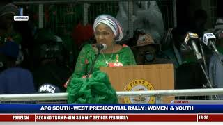 Women, Youths Take APC Presidential Rally To Ibadan Pt.5 |Live Event|