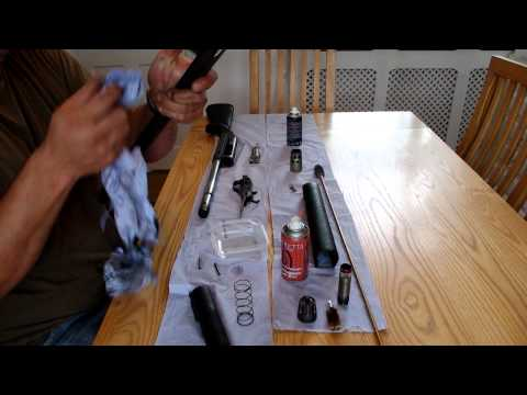 winchester SX3 shotgun cleaning and rebuild