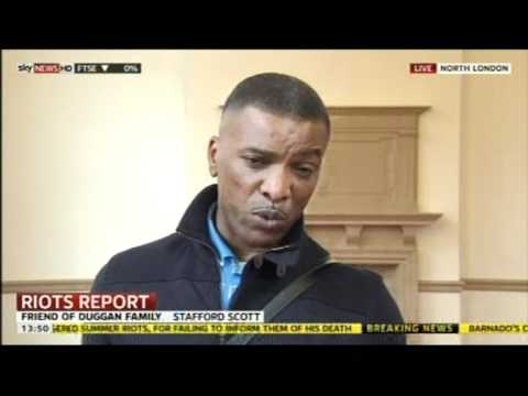 Mark Duggan Inquiry: London's Met Police / Stafford Scott views