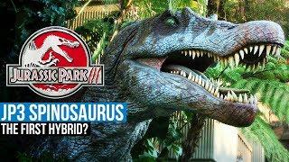 JP3 Spinosaurus, The First Hybrid? - Jurassic Park 3 Fan Theory, Isla Sorna, InGen Secrets