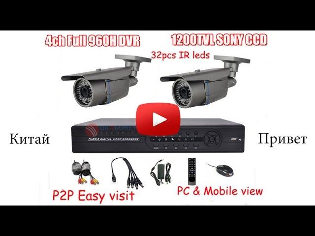 Камера видеонаблюдения с алиэкспресс отзывы