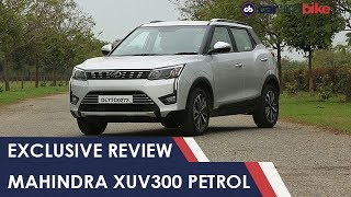 Exclusive - Mahindra XUV300 Petrol Review | NDTV carandbike