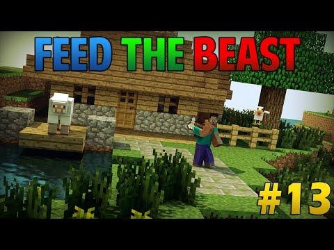 [Feed the Beast] #13 Creeper proof & gevaarlijk doen in de NETHER!