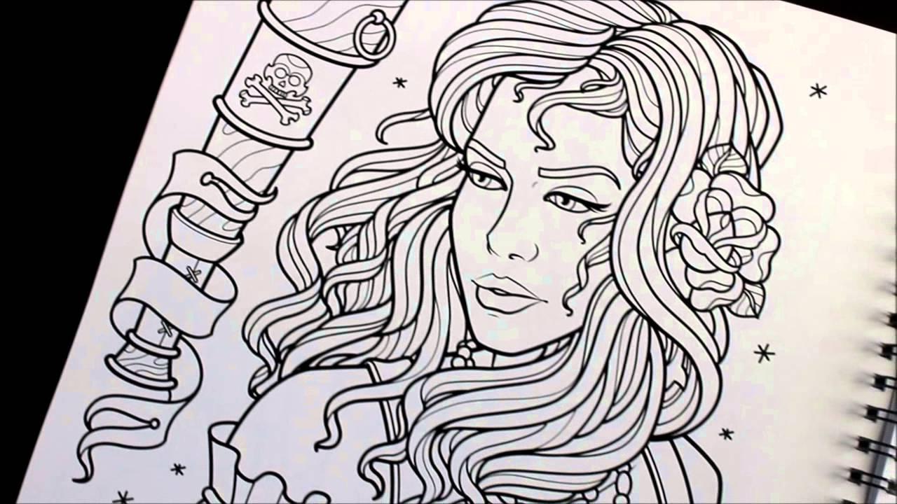 Sam Phillips Tattoo Line Art Sketchbook Youtube