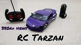 Wow! Rc tarzan|| how to make paper rc tarzan car