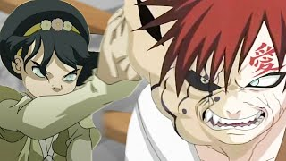 GAARA vs TOPH - DEATH BATTLE! FULL FIGHT Review - Does ScrewAttack Hate Anime Characters?