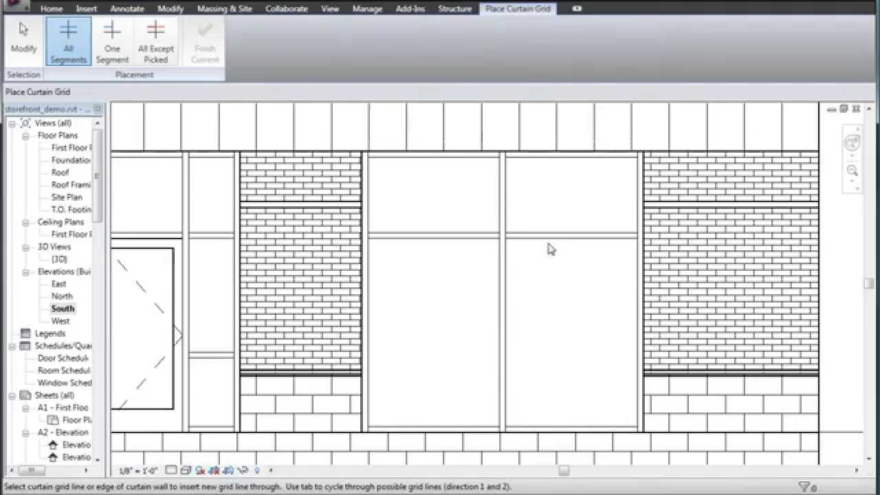 Revit Storefront Doors 2 Minute Crash Course Youtube
