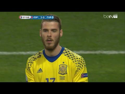 David De Gea vs Turkey - Euro 2016 (17.06.2016) HD 720p