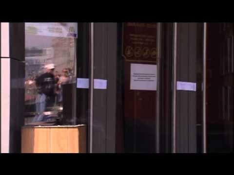 Russia shuts down four McDonalds restaurants - video