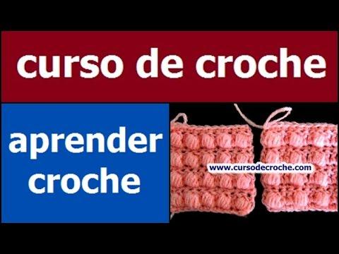 CROCHE AULA 11 PONTO AVELÃ DE 5 LAÇADAS E 1 PONTO