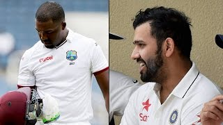 Rohit Sharma, Darren Bravo fined by ICC for on-field spat | वनइंडिया हिन्दी