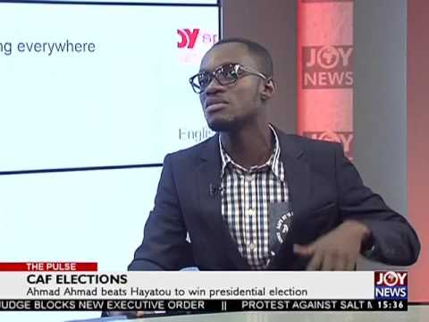 CAF Elections - The Pulse on Joy News (16-3-17)