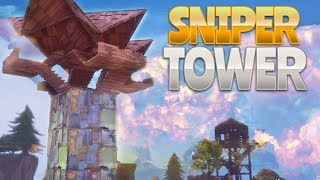 SNIPER TOWER BUILD (Fortnite Battle Royale)