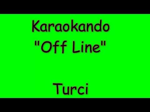 Karaoke Italiano - Off Line - Paola Turci ( Testo )