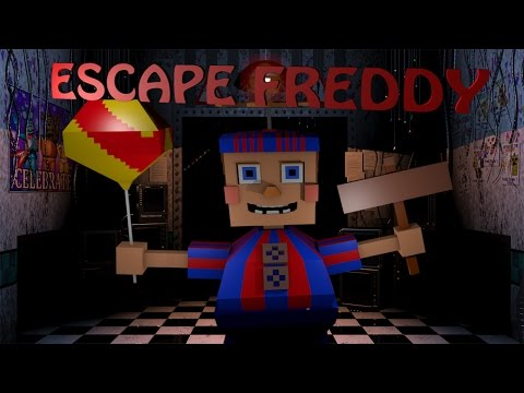 Minecraft | Escape From Five Nights at Freddy's - Balloon Boys Play House Challenge!