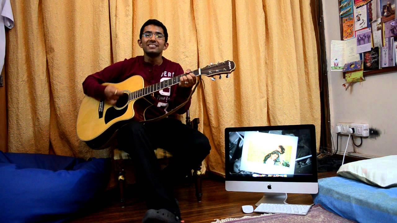 Na jaane mere dil ko kya@guitar(movie-DDLJ)(Actor-Shahrukh/Kajol)(Romantic Bollywood) - YouTube