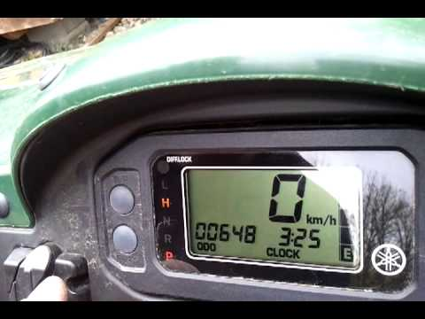 How to Change the Rhino Digi Dash from KPH to MPH - YouTube
