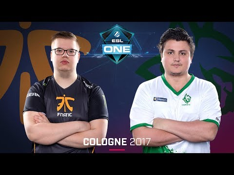 CS:GO - Fnatic vs. Heroic [Mirage] - Swiss Round 2 - ESL One Cologne 2017