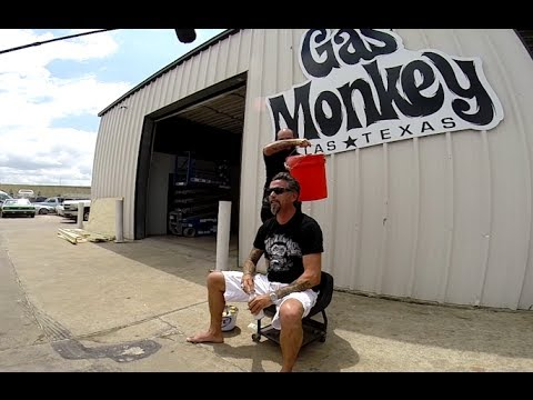 Gas monkey garage richard rawlings cold water challenge youtube