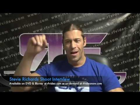 Stevie Richards Shoot Interview Preview