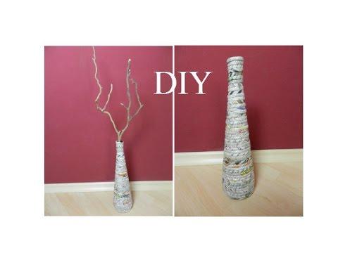 Как сделать вазу своими руками ютуб 46