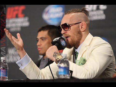 The Conor McGregor Show UFC 178 Post Press