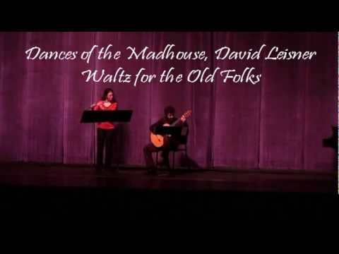 Waltz for the Old Folks, David Leisner ~ Andy Angelle, Guitar, Beverly Harlton, Flute