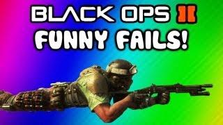Black Ops 2 Funny Fail Moments - Ninja Defused, Barrel Bomb, Claymore, Follow, Hunter Killer Fails