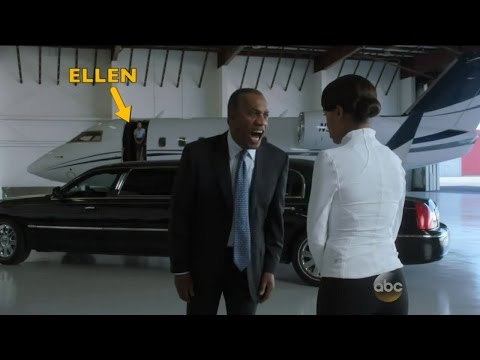 Ellen's Scene from 'Scandal'