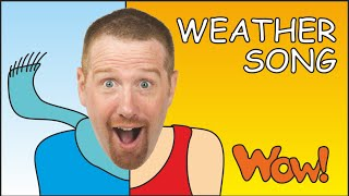 What is the weather like?, Weather Song for Kids, Steve and Maggie