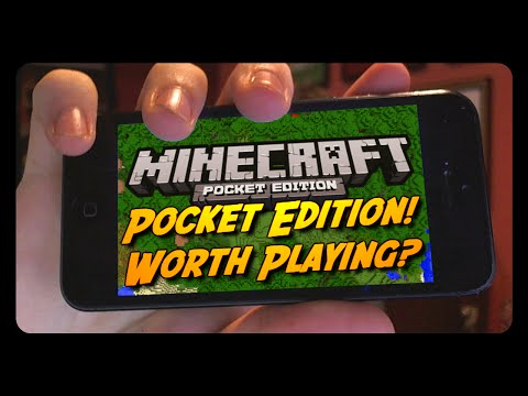 IS MINECRAFT POCKET EDITION 0.9.0 WORTH PLAYING