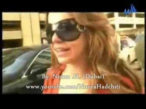 رزان المغربي مهيصة في دبي / Razan Moghrabi Happy In DUBAI