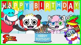 Combo Panda Happy Birthday PARTY Surprise Toy Hunt! Shopping for My Birthday!!!