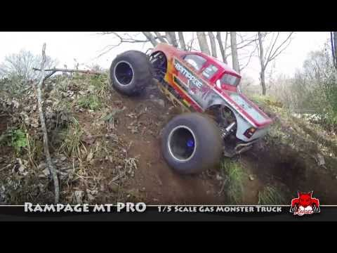 Rampage MT PRO 1/5 scale gas rc truck