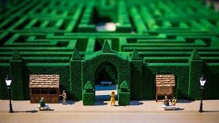 Adam Savage's Overlook Hotel Maze Model