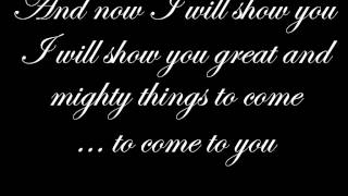 Captured by Kimberly and Alberto Rivera with lyrics in HD