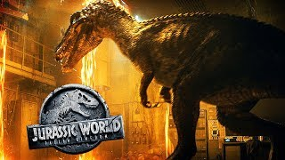CLOSE LOOK AT BARYONYX + MORE BABY BLUE   Jurassic World: Fallen Kingdom Speculation & Theories