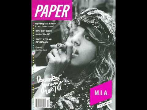 M.i.a Paper Planes video