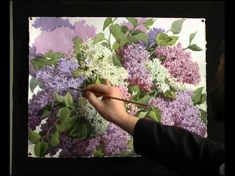 Видео уроки рисования акварелью для начинающих
