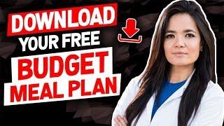 Download your FREE Budget Meal Plan- Gauge Girl Training