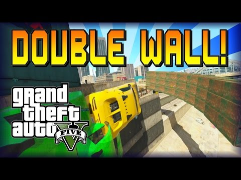 GTA 5 - DOUBLE Anti Gravity Wall - by Unspoken OUCH! (Race) (SocialClub Link)
