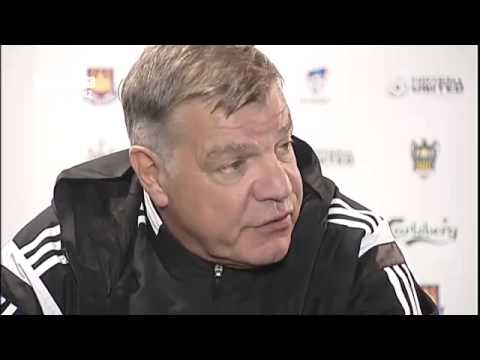 Winston Reid and Sam Allardyce post match interview after Phoenix Wellington 2 West Ham United 1