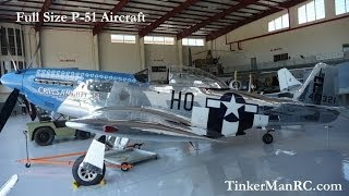 Full Size Aircraft P-51 Mustang  Cripes A