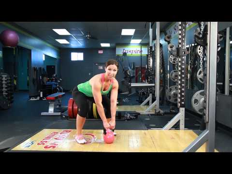 How to Do Kettlebell Swings | Sleek/Strong With Rachel Cosgrove Image 1