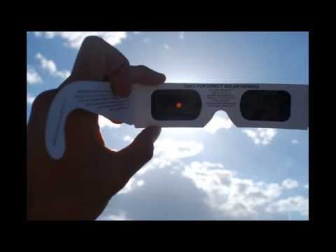 Solar Eclipse Viewing Glasses for August 21, 2017 Solar Eclipse